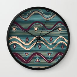 Swamp tribe Wall Clock