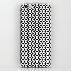 Bazaar 1 Black iPhone & iPod Skin