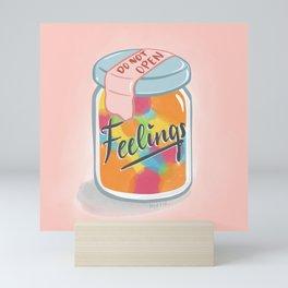 Jar of Feelings Mini Art Print