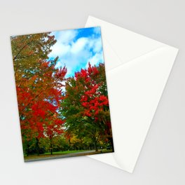red and blue Stationery Cards