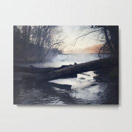 Creek at dawn Metal Print