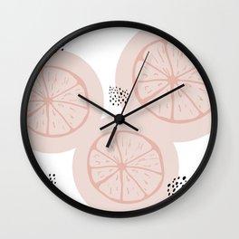 Elizabeth - white Wall Clock