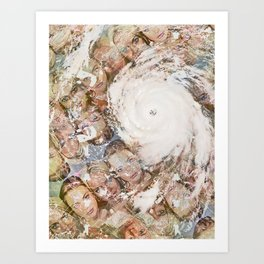 Lindsay/Katrina  Art Print