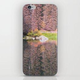 Rainbow Lake iPhone Skin