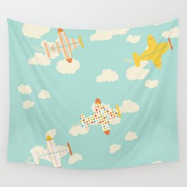 Flying By Wall Tapestry