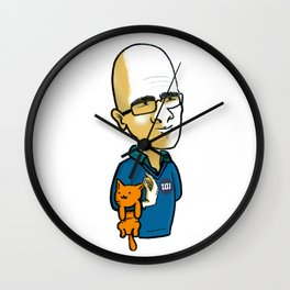 Ohad & Miau Wall Clock