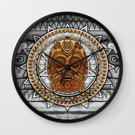 Aztec c3po Droid iPhone 4 4s 5 5c 6, pillow case, mugs and tshirt Wall Clock