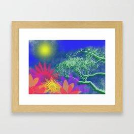 The day x Framed Art Print