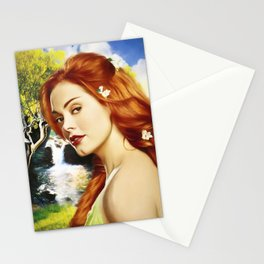 Charmed Nymph Stationery Cards