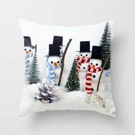 Christmas magic 8. Throw Pillow