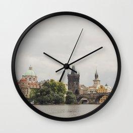 The Charles Bridge Wall Clock