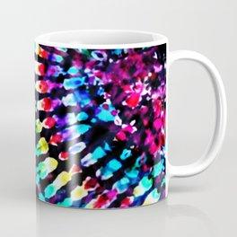 Tie Dye Hour Glass Coffee Mug
