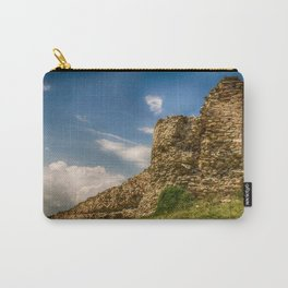 Ruins of an old fortress on a hill Carry-All Pouch