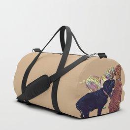 Three Amigos II in tan Duffle Bag