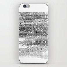 Names of God iPhone & iPod Skin