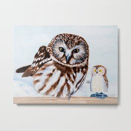 You Can Call Me Owl Metal Print