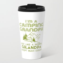 Camping Grandpa Travel Mug