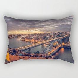 Stormy Porto Rectangular Pillow