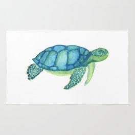 Les Animaux: Sea Turtle Rug