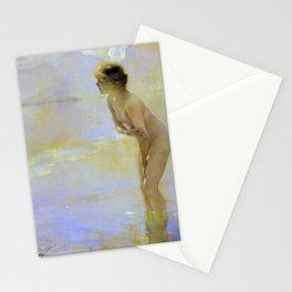 Paul Emile Chabas - September Morn - Paul Emile Chabas Stationery Cards