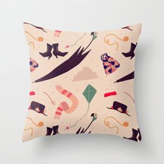 Practically Perfect Pattern Throw Pillow