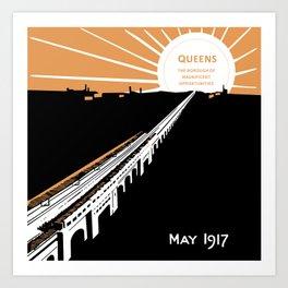 Queens Opportunities Art Print