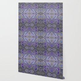 Abstract #2 - III Blue Pop Wallpaper