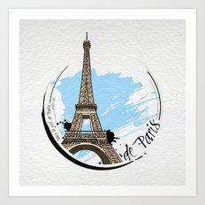 de Paris Art Print