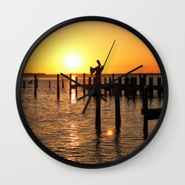 As Darkness Descends Wall Clock