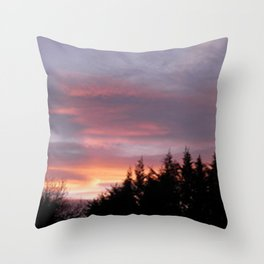 Photo, Clare Glens, Ireland Throw Pillow