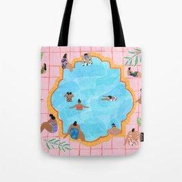 Marigold pool Tote Bag