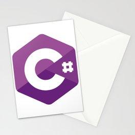 C# - C Sharp Stationery Cards