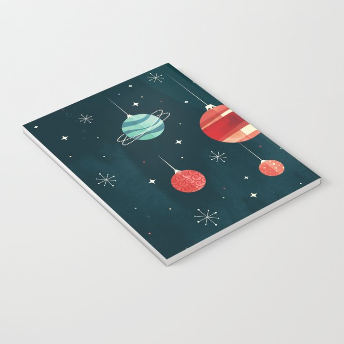 Joy to the Universe (in Teal) Notebook