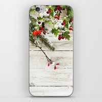 xmas iPhone & iPod Skins featuring Xmas by Ylenia Pizzetti