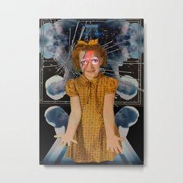 Artist Trading Card #14 - Stardust Metal Print