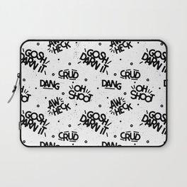 PG Cussin' Pattern Laptop Sleeve