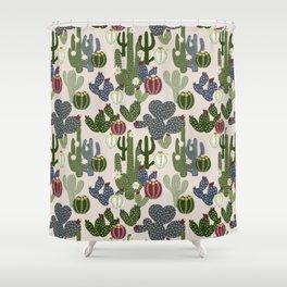 Desert Vibrance Shower Curtain