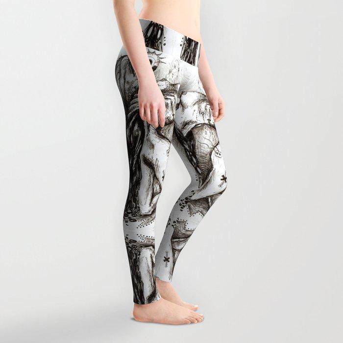 Alien Sex Fiend Leggings
