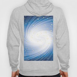 Stars, Light and Motion in space Hoody