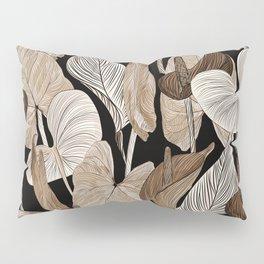 Lush lily - russet Pillow Sham