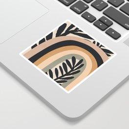 Abstract Art Rainbow 2 Sticker