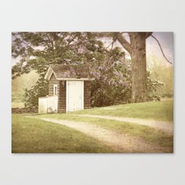Faded summer memories Canvas Print