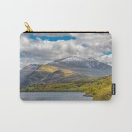 Snowdon from Padarn Lake Llanberis Carry-All Pouch