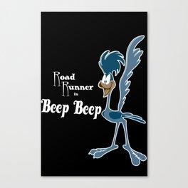 Road runner beep, beep Canvas Print
