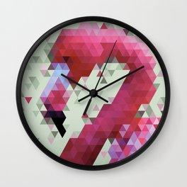 Flamingo - Polygon Wall Clock