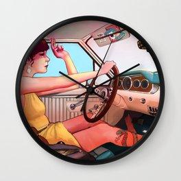 The Getaway Wall Clock