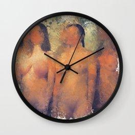 Vestal Virgins Wall Clock