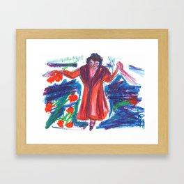 La Diva Framed Art Print
