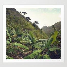 Banana hike Art Print