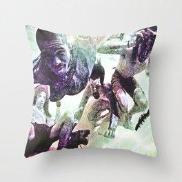 Swim good Throw Pillow